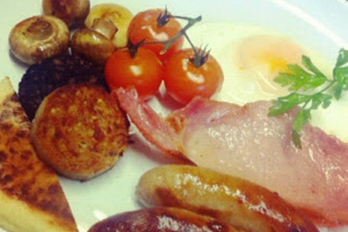 Full Irish Breakfast At Strokestown